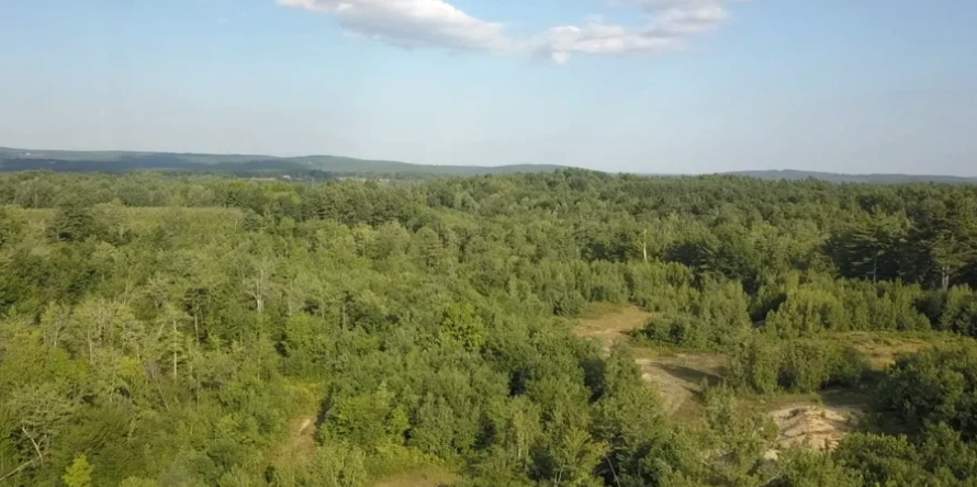 Altitude completes aerial video of upcoming event center in Acton, Maine